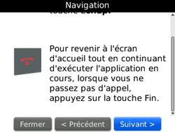 BlackBerry curve 3G - Premiers pas - Créer un compte - Étape 14