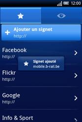 Sony Ericsson Xperia X8 - Internet - Navigation sur internet - Étape 12