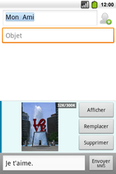 Alcatel OT-991 Smart - MMS - Envoi d