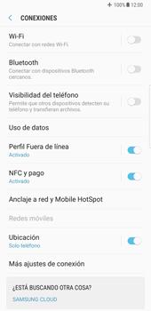 Samsung Galaxy Note 8 - Funciones básicas - Activar o desactivar el modo avión - Paso 6