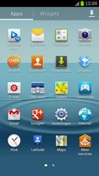 Samsung I9300 Galaxy S III - Contacten en data - Contacten overzetten via Bluetooth - Stap 3