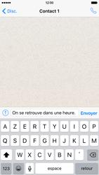 Apple iPhone 6 iOS 9 - WhatsApp - Envoyer des SMS avec WhatsApp - Étape 8