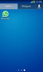 Samsung Galaxy Trend Plus - Aplicações - Como configurar o WhatsApp -  4