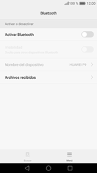 Huawei P9 - Bluetooth - Conectar dispositivos a través de Bluetooth - Paso 5