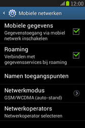 Samsung S6310 Galaxy Young - Internet - buitenland - Stap 9