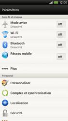 HTC S720e One X - MMS - configuration manuelle - Étape 5