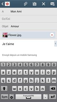 Samsung Galaxy Note 3 - E-mails - Envoyer un e-mail - Étape 16