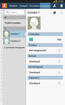 Samsung T315 Galaxy Tab 3 8-0 LTE - Contacten en data - Contacten kopiëren van toestel naar SIM - Stap 4