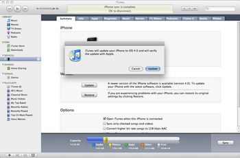 Apple iPhone 4 met iOS 5 - Software - Update installeren via PC - Stap 3