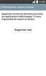 LG H220 Joy - Device maintenance - Retour aux réglages usine - Étape 8