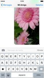 Apple iPhone 6 iOS 8 - Mensajería - Escribir y enviar un mensaje multimedia - Paso 14