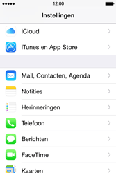 Apple iPhone 4S iOS 8 - E-mail - handmatig instellen (yahoo) - Stap 3
