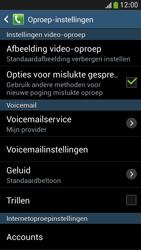 Samsung I9195 Galaxy S IV Mini LTE - Voicemail - handmatig instellen - Stap 6