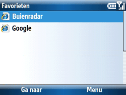 Samsung C6620 - Internet - hoe te internetten - Stap 16