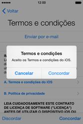 Apple iPhone 4S iOS 8 - Primeiros passos - Como ligar o telemóvel pela primeira vez -  17