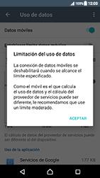 Sony Xperia XZ (F8331) - Internet - Ver uso de datos - Paso 9