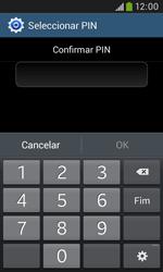 Samsung Galaxy Grand Neo - Segurança - Como ativar o código de bloqueio do ecrã -  10