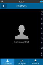 Samsung Wave M - Contact, Appels, SMS/MMS - Ajouter un contact - Étape 3