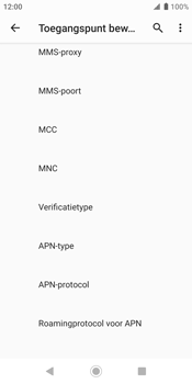 Sony xperia-xz2-h8216-android-pie - Internet - Handmatig instellen - Stap 13