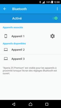 Sony Xperia Z5 Premium - Android Nougat - Bluetooth - connexion Bluetooth - Étape 10