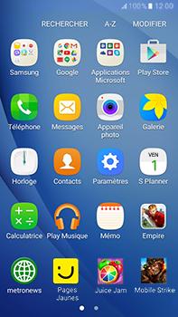 Samsung Samsung Galaxy J7 (2016) - Contact, Appels, SMS/MMS - Envoyer un MMS - Étape 3