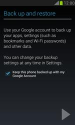 Samsung I8190 Galaxy S III Mini - E-mail - Manual configuration (gmail) - Step 13