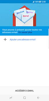 Samsung Galaxy S8 - E-mails - Ajouter ou modifier votre compte Gmail - Étape 6