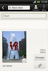 HTC A320e Desire C - MMS - envoi d'images - Étape 12