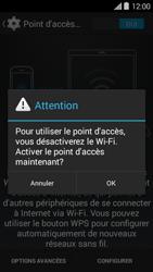Bouygues Telecom Ultym 5 II - Internet et connexion - Partager votre connexion en Wi-Fi - Étape 10