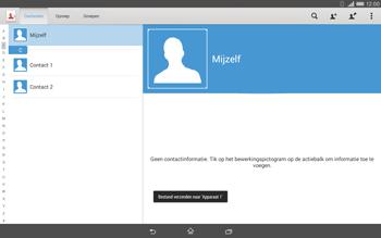 Sony Xperia Tablet Z2 4G (SGP521) - Contacten en data - Contacten overzetten via Bluetooth - Stap 13