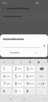 Samsung Galaxy S10 - Voicemail - handmatig instellen - Stap 12