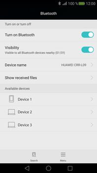 Huawei Mate S - WiFi and Bluetooth - Setup Bluetooth Pairing - Step 5