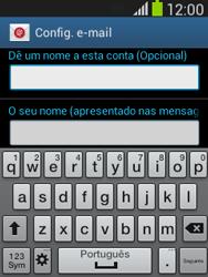 Samsung Galaxy Pocket Neo - Email - Adicionar conta de email -  9