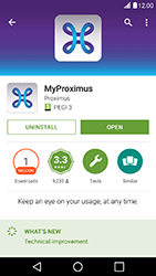LG X Power - Applications - MyProximus - Step 8