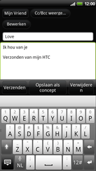 HTC Z710e Sensation - E-mail - e-mail versturen - Stap 7