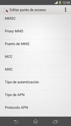 Sony Xperia M2 - Mensajería - Configurar el equipo para mensajes multimedia - Paso 12