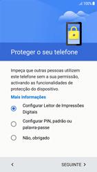 Samsung Galaxy A5 (2016) - Android Nougat - Primeiros passos - Como ligar o telemóvel pela primeira vez -  12