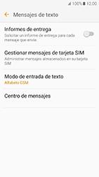 Samsung Galaxy J5 (2016) - Mensajería - Configurar el equipo para mensajes de texto - Paso 8