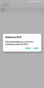 LG Q7 - WiFi - Verbinden met een netwerk - Stap 4
