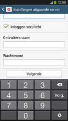 Samsung C105 Galaxy S IV Zoom LTE - E-mail - e-mail instellen: IMAP (aanbevolen) - Stap 13