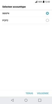 LG Q6 (M700) - E-mail - Account instellen (IMAP zonder SMTP-verificatie) - Stap 9