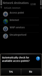 Nokia E7-00 - Internet - Manual configuration - Step 8
