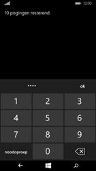 Microsoft Lumia 640 (Type RM-1072) - Beveiliging en ouderlijk toezicht - Hoe wijzig ik mijn SIM PIN-code - Stap 8