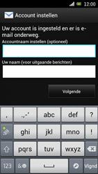 Sony Ericsson Xperia Arc met OS 4 ICS - E-mail - Handmatig instellen - Stap 18