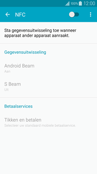 Samsung Galaxy Note 4 4G (SM-N910F) - NFC - NFC activeren - Stap 6