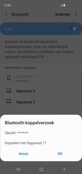 Samsung Galaxy S10 - Bluetooth - headset, carkit verbinding - Stap 8