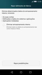 Huawei P8 Lite - Repor definições - Como repor definições de fábrica do telemóvel -  6