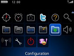 BlackBerry curve 3G - E-mails - Ajouter ou modifier un compte e-mail - Étape 3