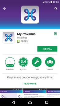 Sony F3211 Xperia XA Ultra - Applications - MyProximus - Step 6