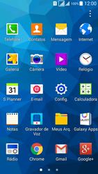 Samsung G530FZ Galaxy Grand Prime - Funções básicas - Como restaurar as configurações originais do seu aparelho - Etapa 3